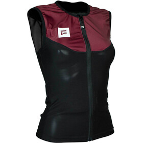 Flaxta Behold Back Protector Vest Women burgundy